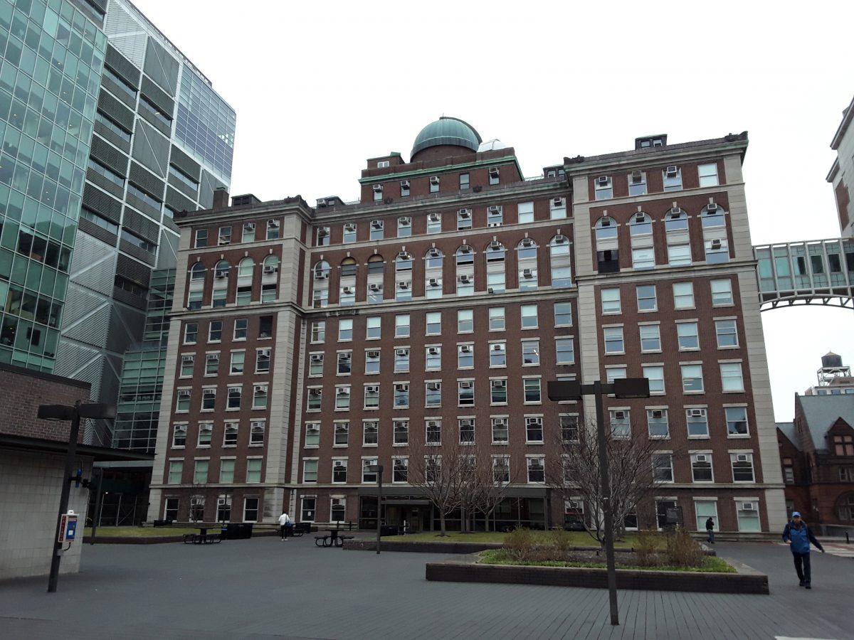 Visit at Columbia University