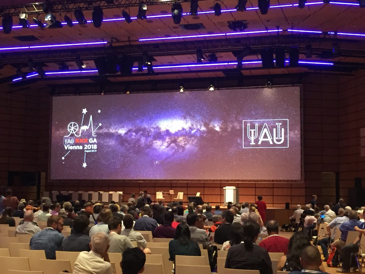 IAU General Assembly in Vienna